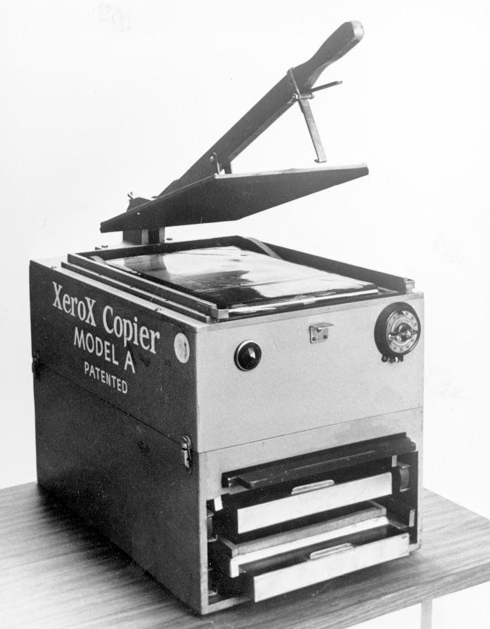 xerox model a 1949