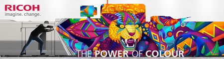 banner ricoh power of colour